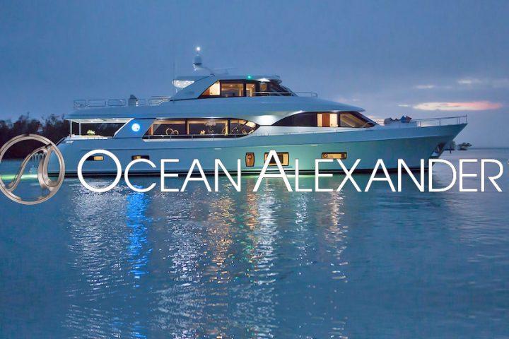 virtual boat show motor yachts Ocean-Alexander