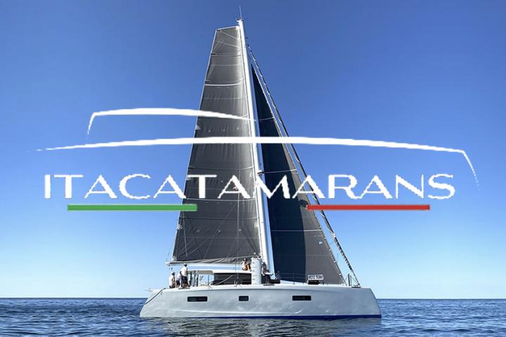 virtualboatshow catamarans itacatamarans logo